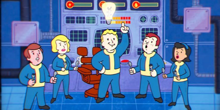 Fallout Shelter Promotional Cartoon