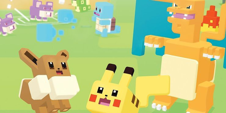 Pokemon Quest game poster