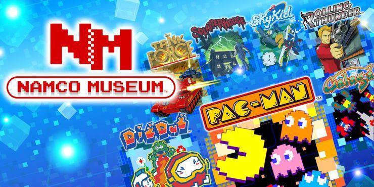 Namco Museum on Nintendo Switch
