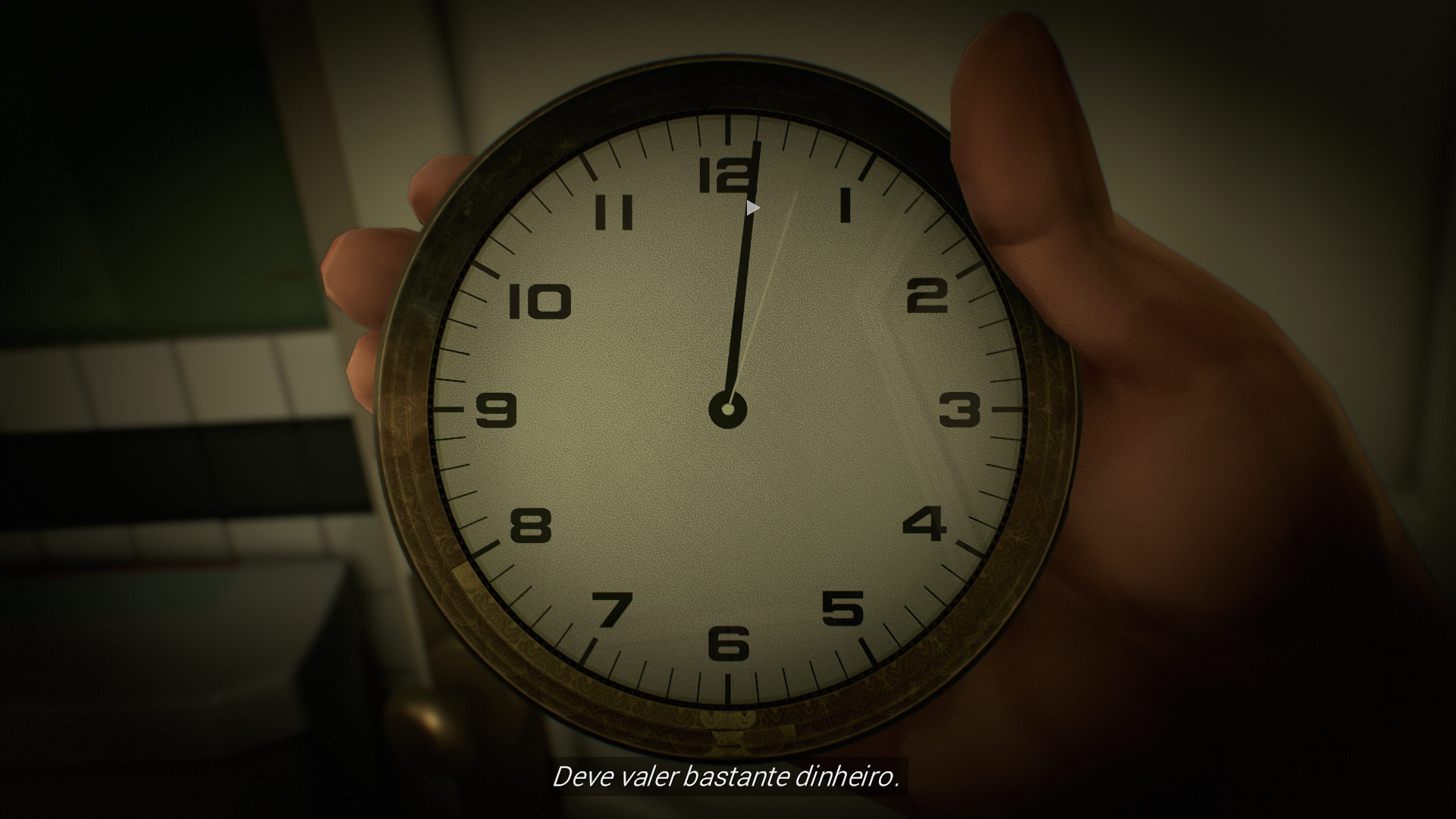 Relógio escondido Twelve Minutes