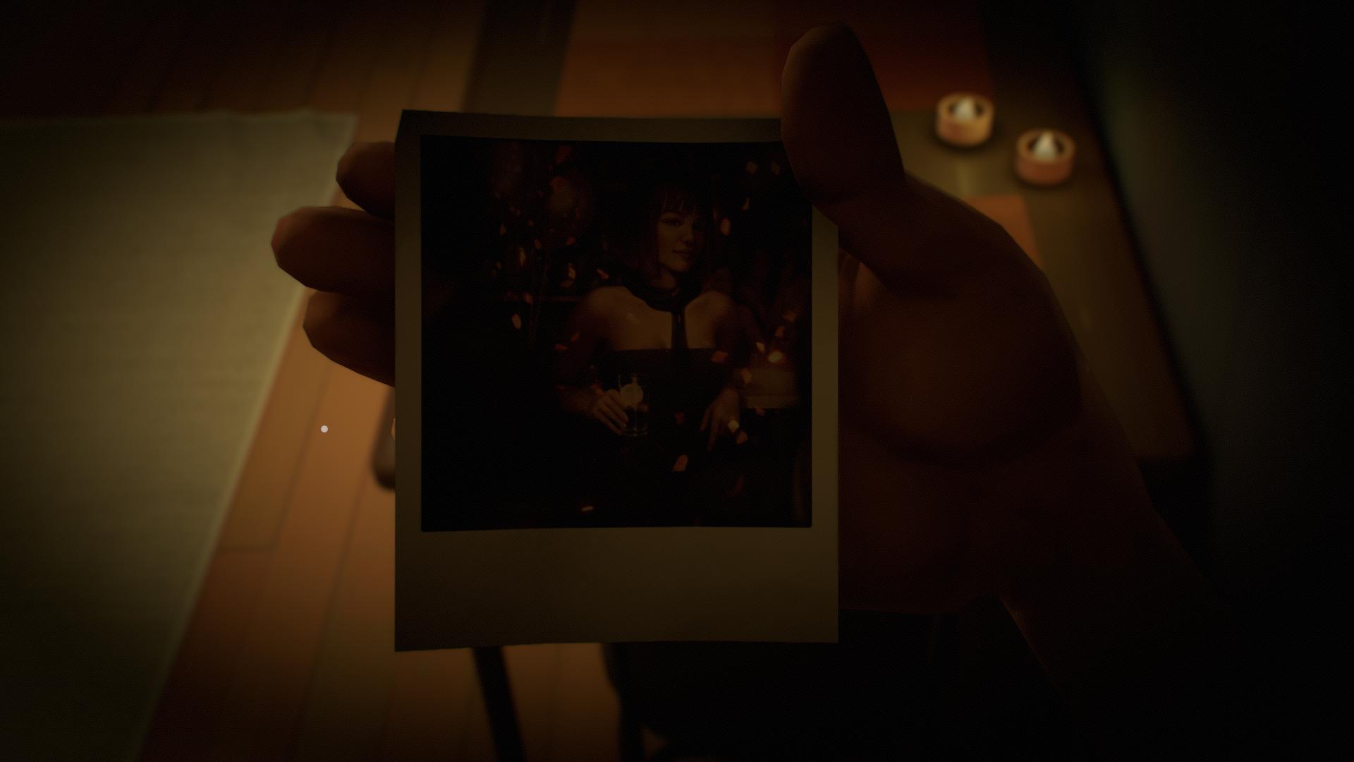 Polaroid na porta da geladeira Twelve Minutes