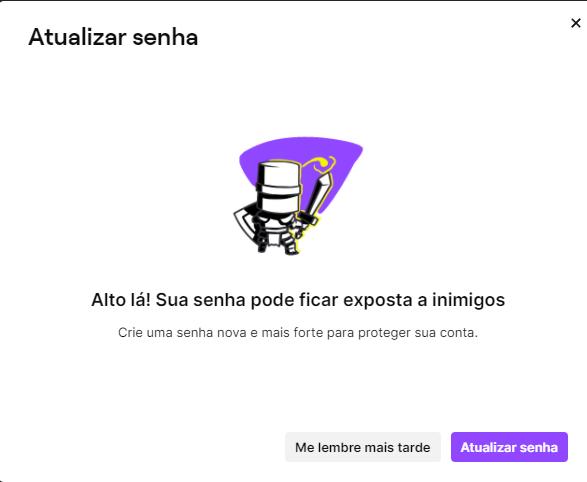 Twitch pede para que usuários troquem suas senhas